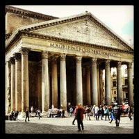 Photo taken at Pantheon by Michele T. on 4/10/2013