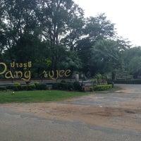 Photo taken at Pang Rujee Resort by Rinyarat T. on 10/3/2013