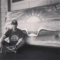 Photo taken at San Clemente Surfboards & Art By Paul Carter by Paul C. on 12/6/2013