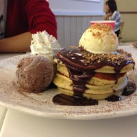 Photo taken at Pancake Café by por p. on 4/18/2013