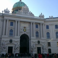 Photo taken at Hofburg by Viktorka M. on 12/30/2012