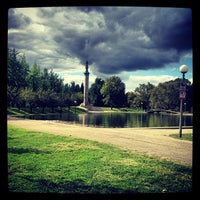 Photo taken at West Park Dog Park by Ted W. on 9/23/2012