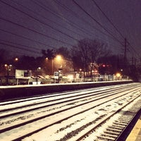 Photo taken at Metro North - Noroton Heights Train Station by Chrysula W. on 12/17/2013