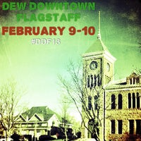Photo taken at Dew Downtown Flagstaff by visitflagstaff on 2/5/2013