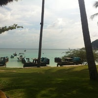 Photo taken at Haad Tien Beach Resort by Guy W. on 12/19/2012