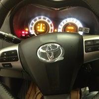 Photo taken at Toyota Plaza Tokullar by Ahmet Ç. on 12/19/2012