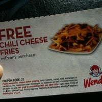 Photo taken at Wendy's by Subi J. on 5/10/2013