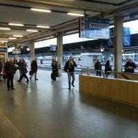 Photo taken at Venezia Mestre Railway Station (XVY) by Nico B. on 1/24/2013