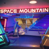 Photo taken at Space Mountain by Jordie P. on 4/13/2013