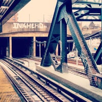Photo taken at MTA Subway - F Train by Bex J. on 12/7/2012