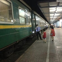 Photo taken at Ga Hà Nội (Hanoi Train Station) by Ngọc Dung on 8/6/2013