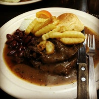 Photo taken at Mr Steak House by ct nurnashrah p. on 1/1/2013