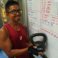 Photo taken at Jurong West ActiveSg Gym by M Farhan R. on 4/20/2016