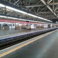 Photo taken at Estação Brás (Metrô) by Marcos A. on 1/17/2013