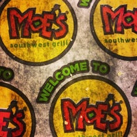 Photo taken at Moe's Southwest Grill by Drew A. on 9/25/2013