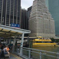 Photo taken at East River Ferry - Wall St/Pier 11 Terminal by Myrna F. on 5/30/2016