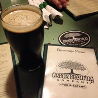 Photo taken at Arbor Brewing Company by Alyee H. on 12/15/2012