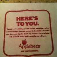 Photo taken at Applebee's by Kristi S. on 12/17/2012