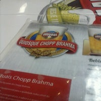 Photo taken at Quiosque Chopp Brahma (Tamboré) by Gustavo A. on 12/23/2012