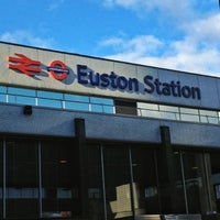 Photo taken at London Euston Railway Station (EUS) by Trevor B. on 3/3/2013