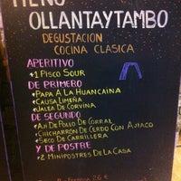 Photo taken at Restaurante Tampu by Julio G. on 12/16/2012