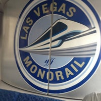 Photo taken at Las Vegas Monorail - MGM Grand Monorail Station by Mer R. on 3/26/2013