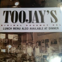 Photo taken at TooJay's Gourmet Deli by Amanda W. on 12/31/2012