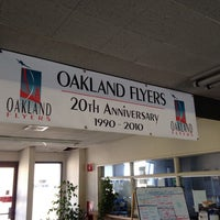 Photo taken at Oakland Flyers by Nish A. on 6/29/2013