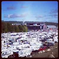 Photo taken at New Hampshire Motor Speedway by Kate F. on 9/23/2012