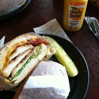 Photo taken at Bagel Basket Cafe by Candy R. on 1/1/2013