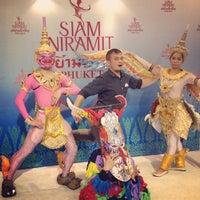 Photo taken at Siam Niramit Phuket by Eddie C. on 7/4/2013