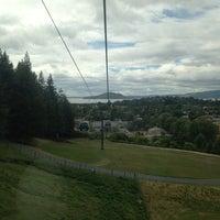 Photo taken at Skyline Rotorua Gondola by Bashayer A. on 2/13/2013