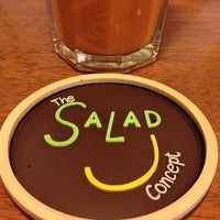 Photo taken at The Salad Concept by Pooh's C. on 11/29/2012
