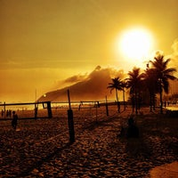 Photo taken at Praia de Ipanema by Daniel V. on 5/3/2013