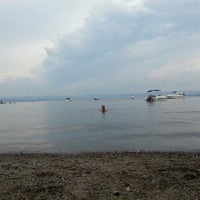 Photo taken at Croton Point Beach by Eric F. on 6/30/2013