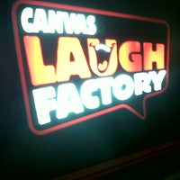 Photo taken at Canvas Laugh Factory by Alroy N. on 6/9/2013