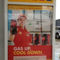 Photo taken at Shell Top load by Larry F. on 8/6/2013