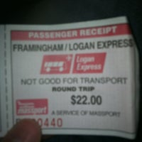 Photo taken at Logan Express by Scott B. on 12/26/2012