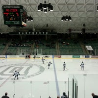 Photo taken at Thompson Arena at Dartmouth by Barbara B. on 1/19/2013