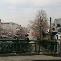 Photo taken at 観音橋 by Masaaki I. on 3/28/2013