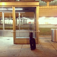 Photo taken at Newark-Liberty Airport Express Shuttle by Bobby D. on 10/12/2012