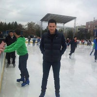 Photo taken at Patinoar by Andrei D. on 11/23/2013