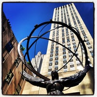 Photo taken at Rockefeller Center by Foodimentary on 5/10/2013