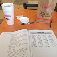 Photo taken at Dunkin' Donuts by Nicholas B. on 11/14/2014