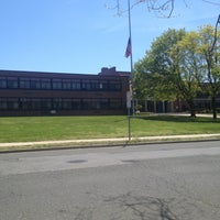 Photo taken at Division Avenue High School by jean s. on 4/30/2013
