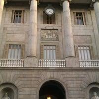 Photo taken at Ajuntament de Barcelona by Eli V. on 12/30/2012