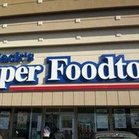 Photo taken at Jack's Super Foodtown by Derek Z. on 1/6/2013