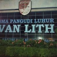 Photo taken at SMA Pangudi Luhur Van Lith by Katharine T. on 7/1/2016