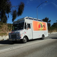 Photo taken at Kogi BBQ Truck by Elise T. on 12/19/2012