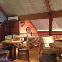 Photo taken at Nanny's Pavillon - Barn by Litani A. on 5/11/2013